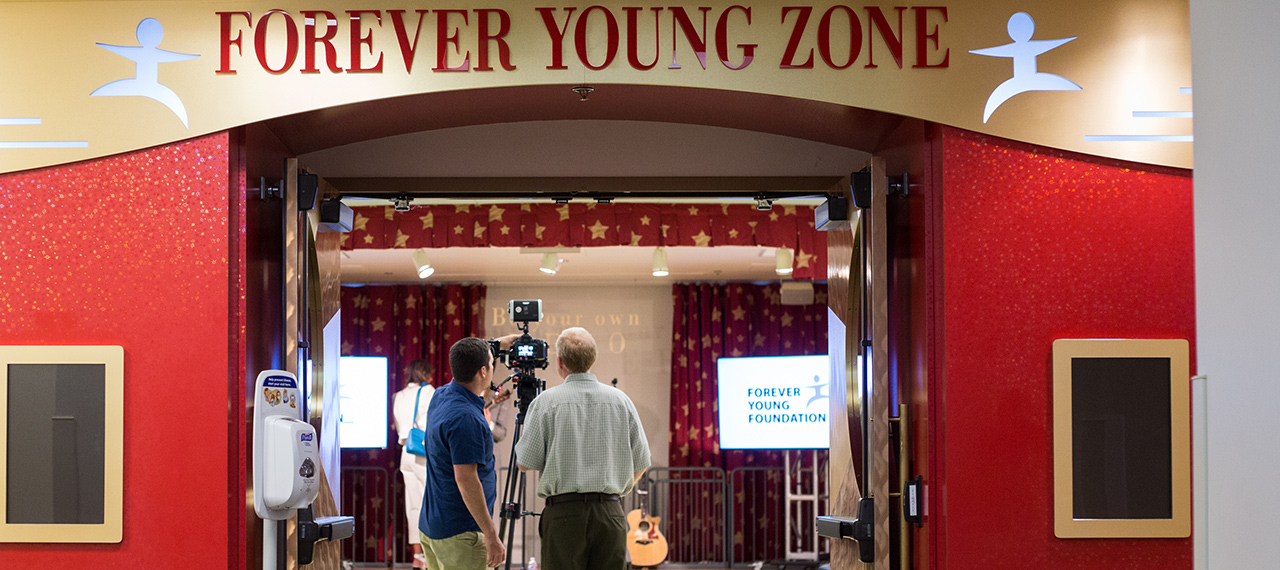 Forever Young Zone studio photo