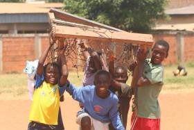 Smiling Kids in Ghana